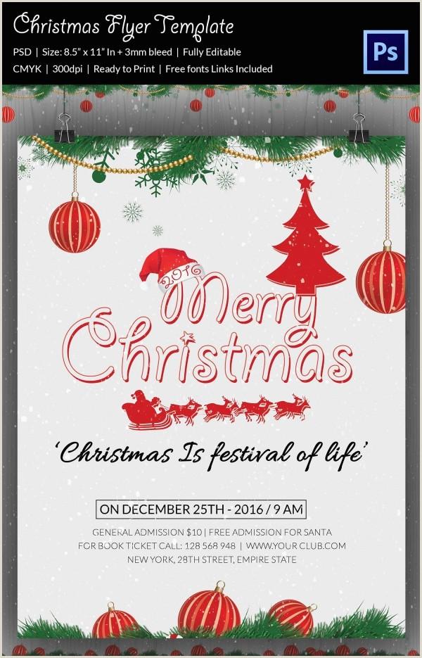 78 Christmas Flyer Templates PSD AI Illustrator Word