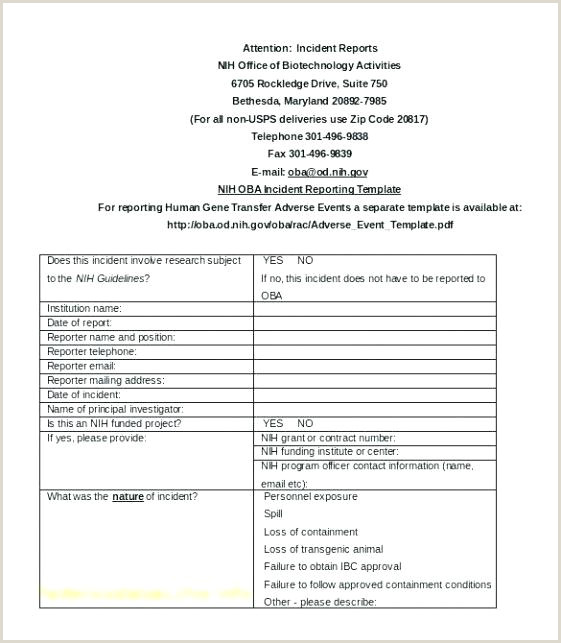 emergency room report template