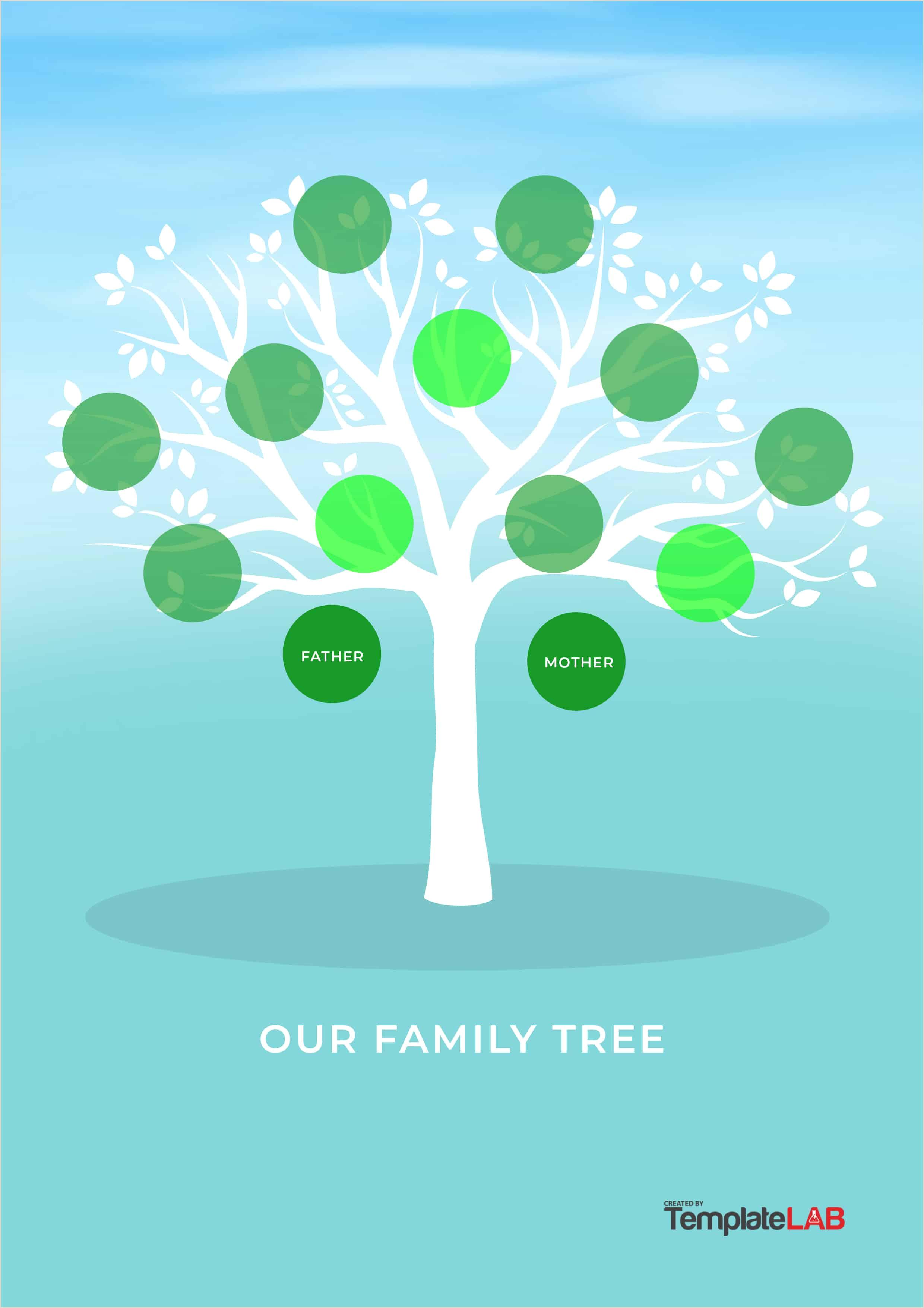 Printable Family Health History form 30 Free Genogram Templates & Symbols Template Lab