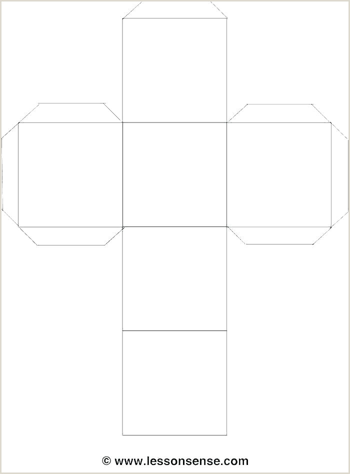 Printable Furniture Templates Cube Template Make Paper Dice Via Cube Template