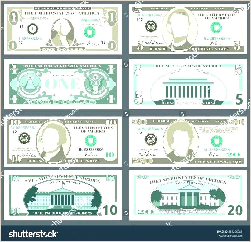 Customizable Money Template Printable Play Download Them