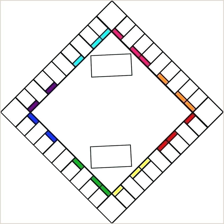 Monopoly Board Template Download Beautiful Blank Free