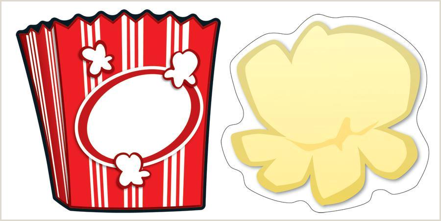 Popcorn Kernel Border