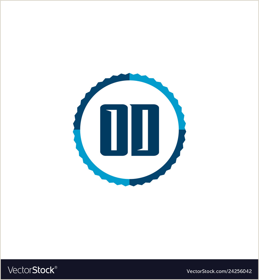 Initial letter logo od template design