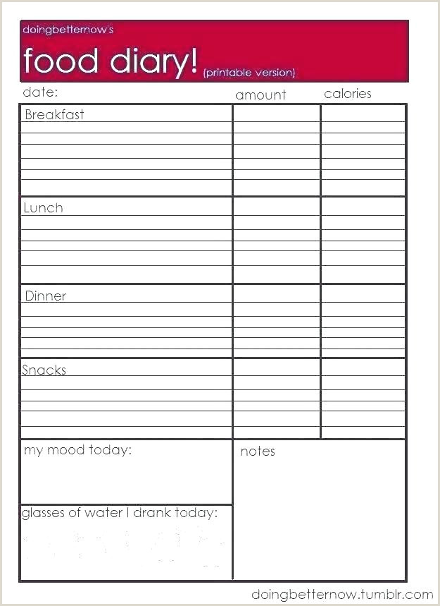 Printable Weekly Food Journal 7 Best Free Printable Food Log Journal Y and Diary