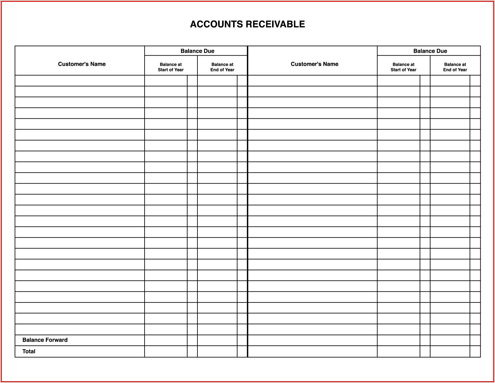 10 trust account statement template
