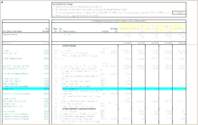 Accounting Balance Sheet Example Financial Top Excel