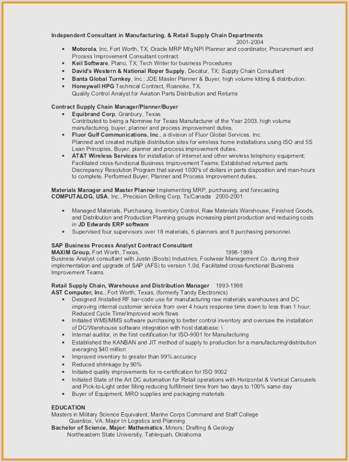 Management Resume Template Free Management Resume Template