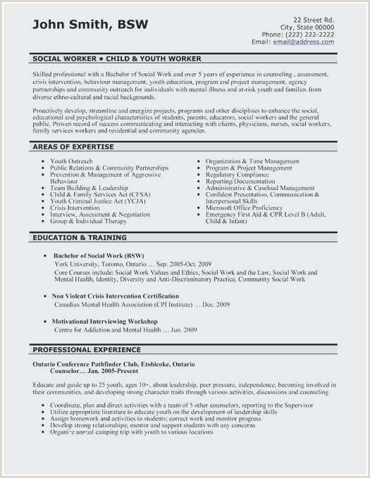 Beautiful Sample Mental Health Counselor Resume