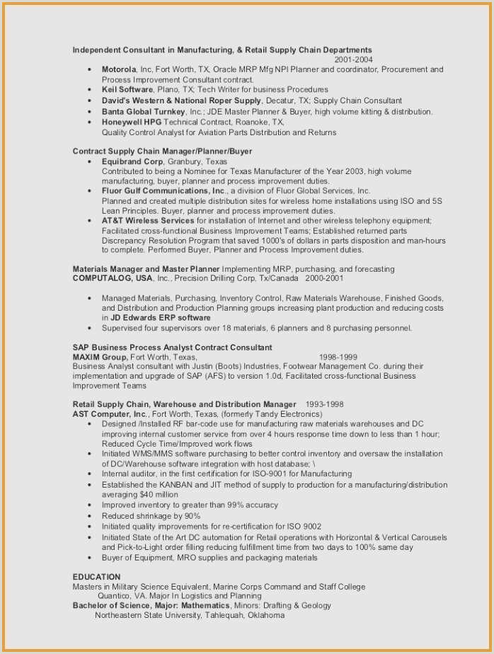 Professional Cv Template Examples Cool Analyst Resume