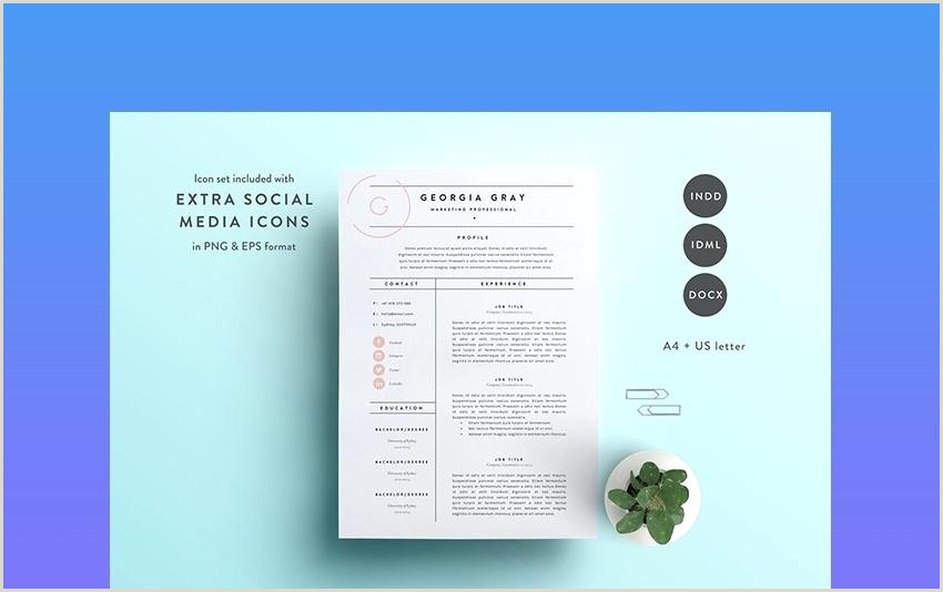 Resume Templates Word Modern Cv Template 2018 Professional