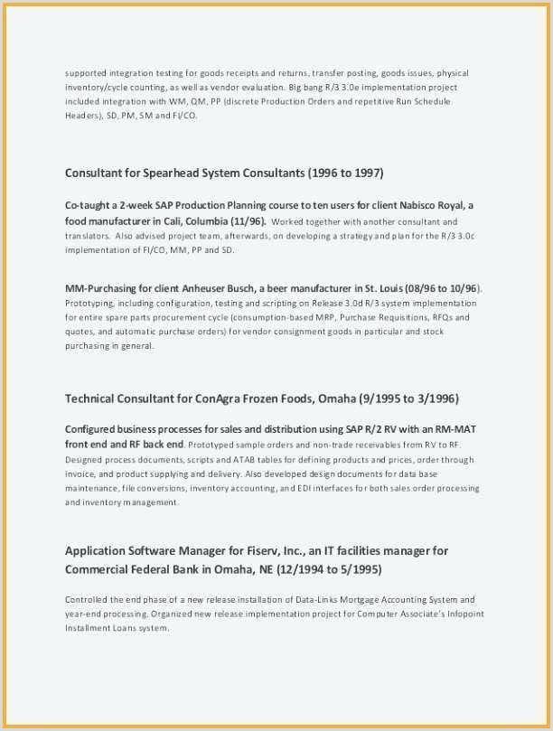 Professional Cv Examples Pdf Professional Resume Template Pdf