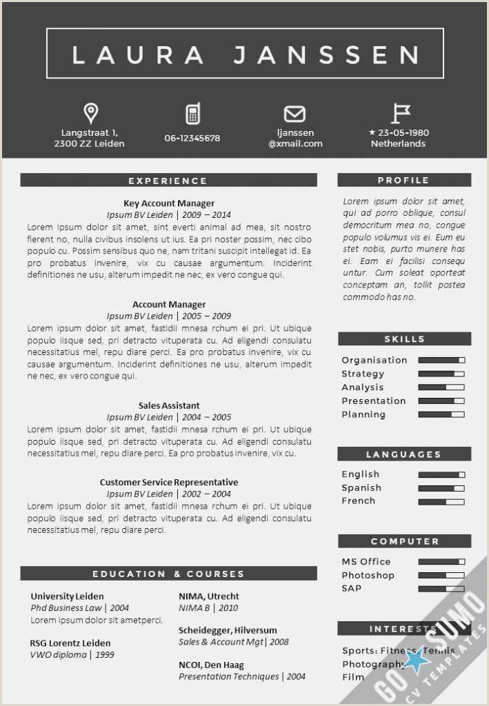 Professional Cv Examples Word Free 54 How to Use Word Templates Picture
