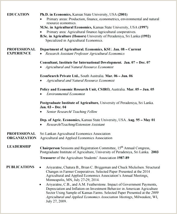 Free Curriculum Vitae Template Word Download Sample Resume Cv