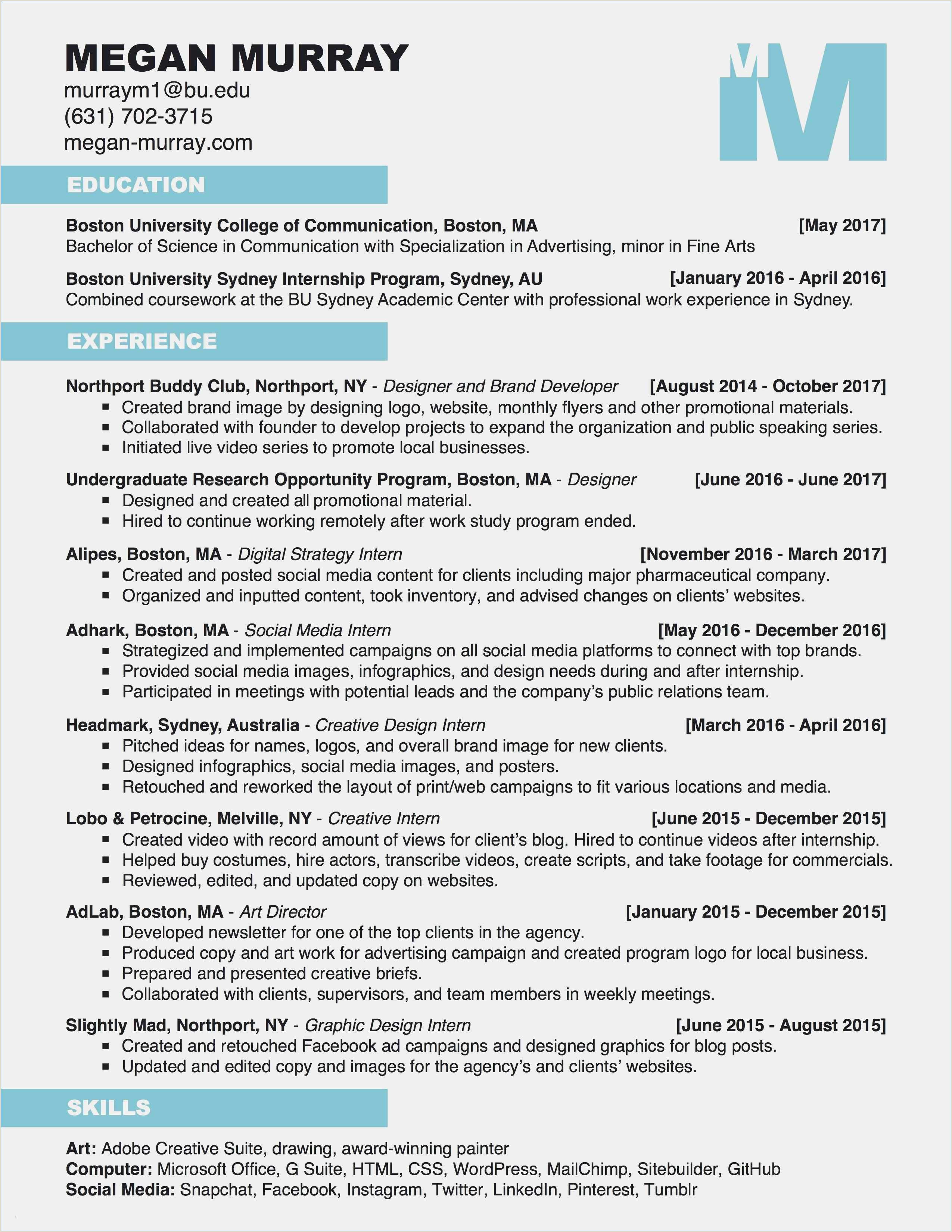 Professional Cv Format 2019 Free Resume And Cover Letter Samples For Internships Cool