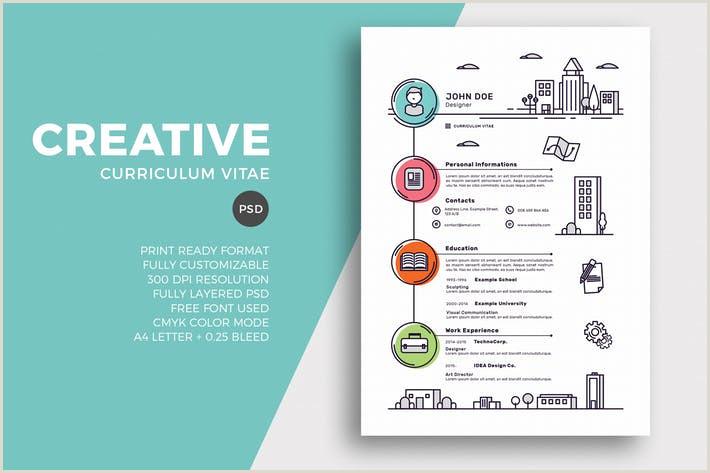 Creative Resume & CV Template by EightonesixStudios on