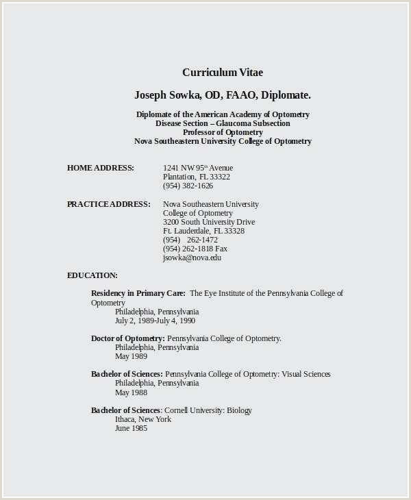 Free Download 46 Physician Cv Template Sample Free