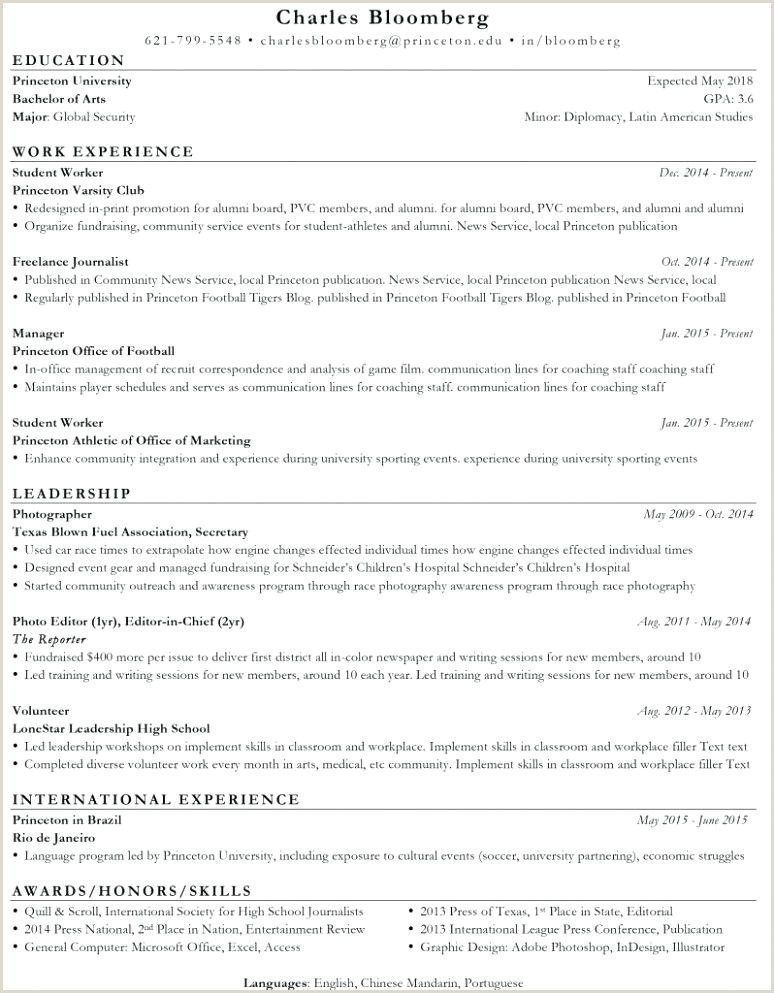 Professional Cv format Download Free Download Free Friendly Resume Template top ats 2019