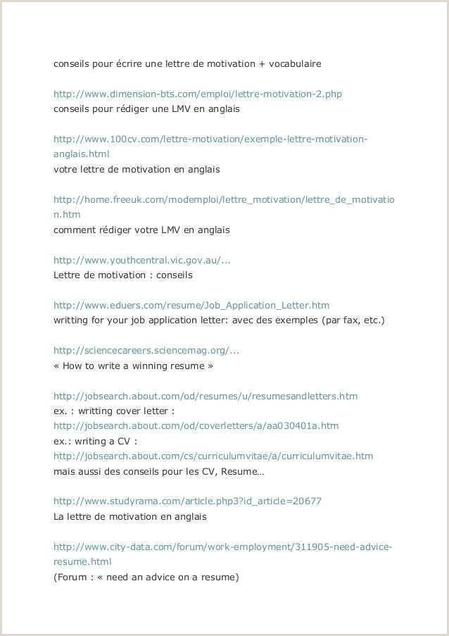 Professional Cv format Example 41 Model Cv Lettre