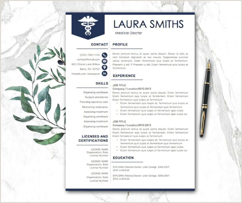 Professional Cv format for Doctors Doctor Resume Template Medical Resume Nurse Resume Resume Pages Nursing Resume Modern Resume