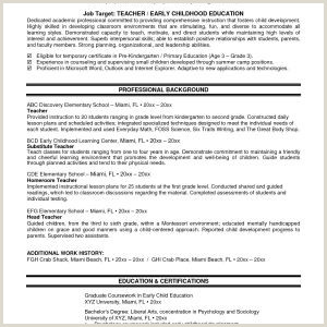 Professional Cv format for Fresh Graduates Sample Resume for Teacher Fresh Graduate New Awesome Cover