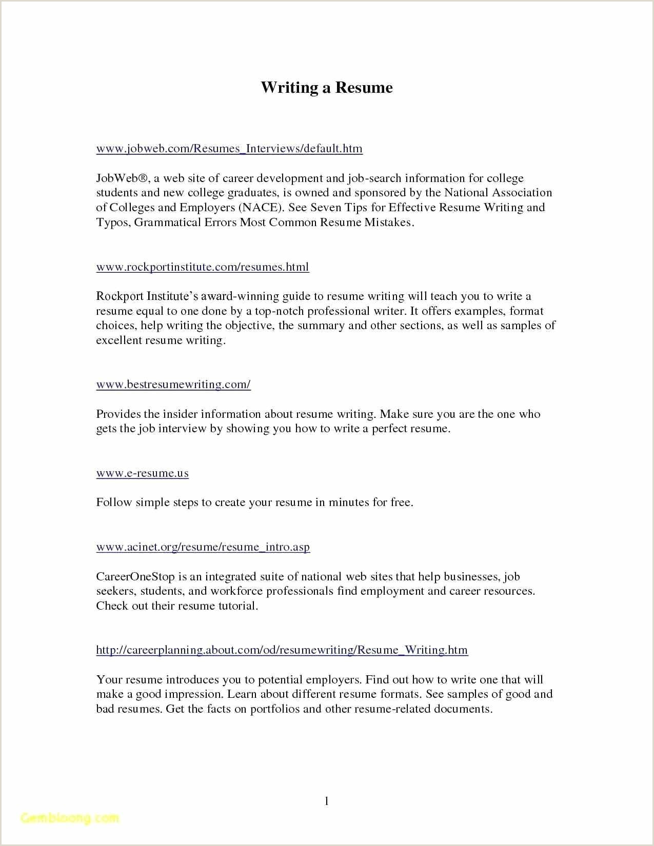 Sample Resume Form Pdf Valid Pdf Sample Resume For Freshers