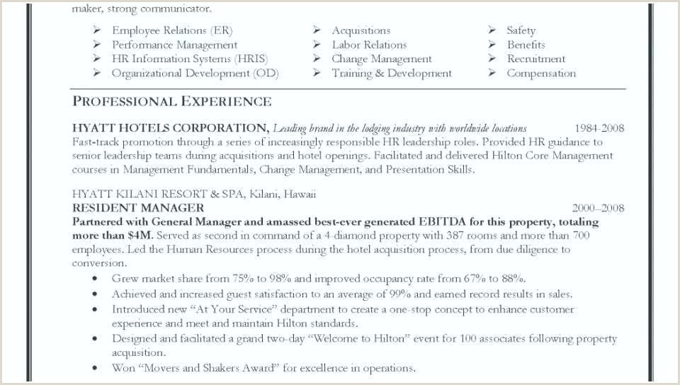 Professional Cv format for Hotel Hospitality Resume Objectives – Paknts