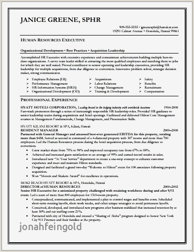 Hospitality Management Cv Examples šnico Sample Resume In