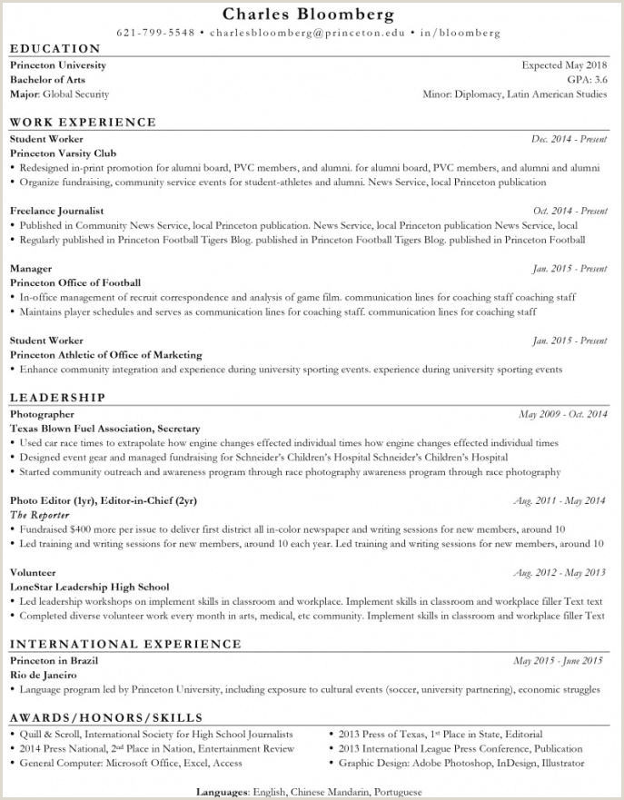 Cover Letter International Experience Sample Best ats