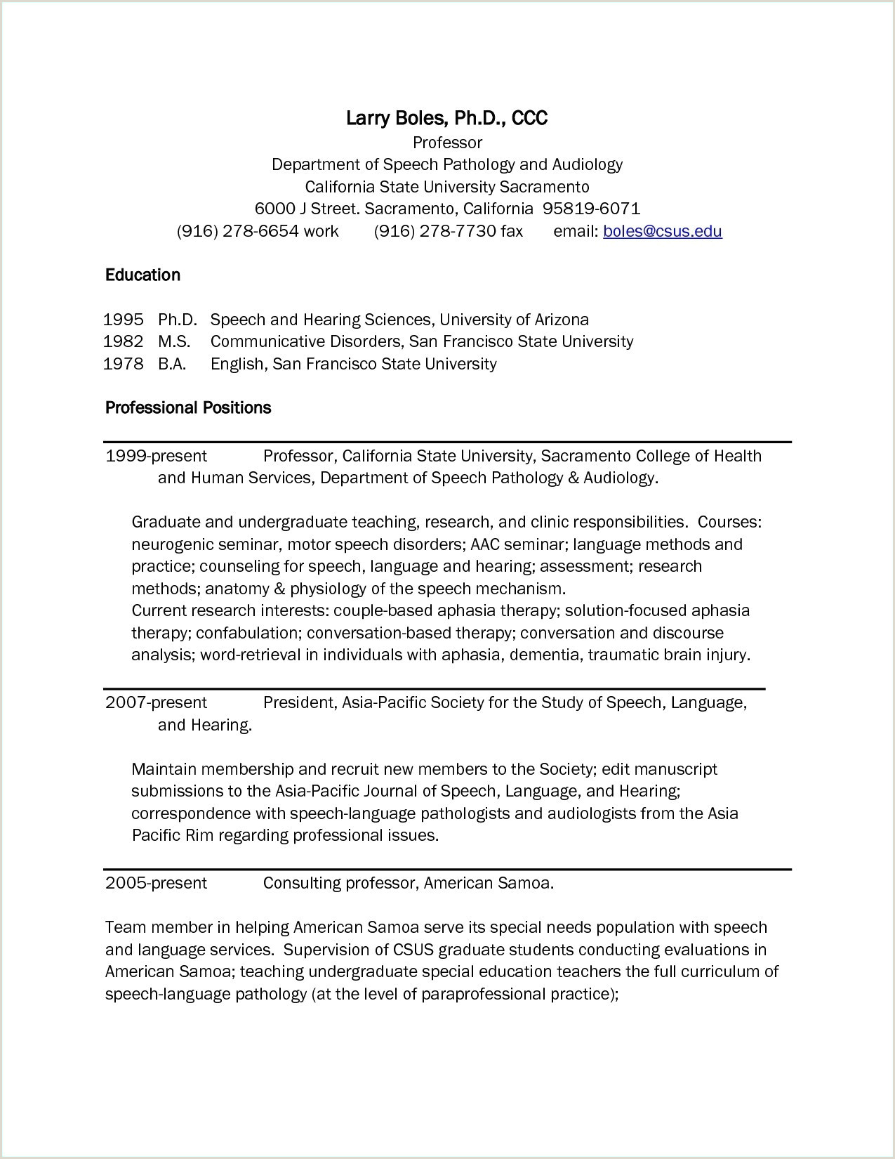 Professional Cv format for Lecturers Sample Resume for Teachers without Experience Best How to