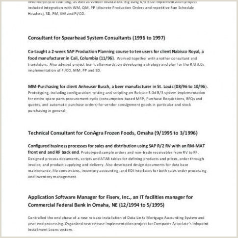 Professional Cv format for Managers 60 Luxe Exemple De Cv Mercial Des