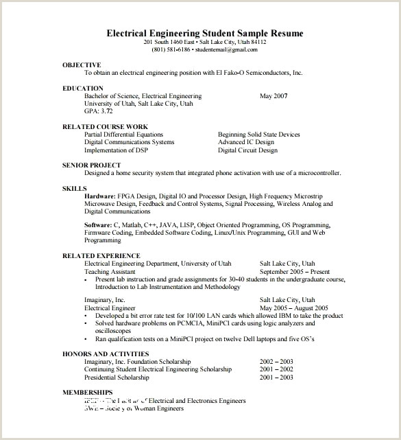 Great How to Right A Resume Resume Design