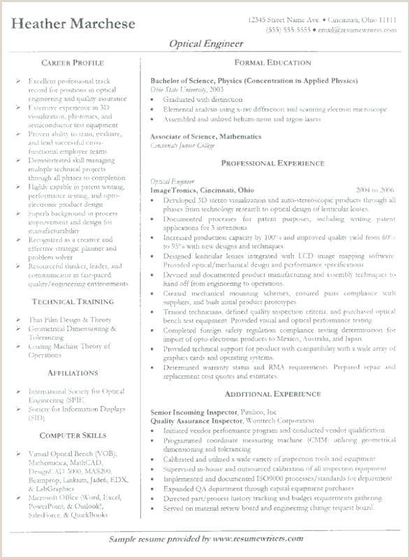 Top Engineer Resume Templates Samples Professional