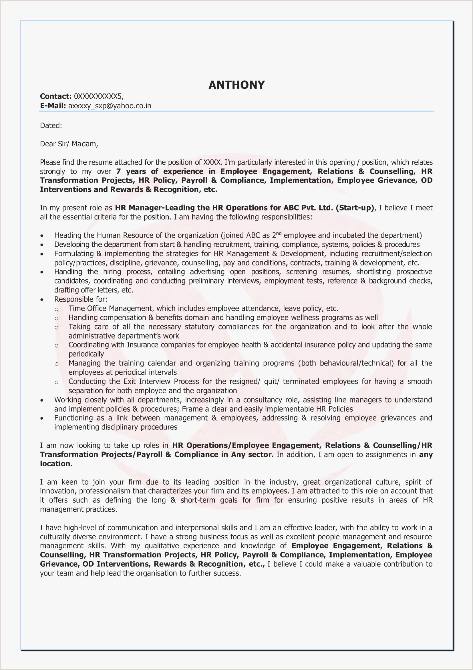 Professional Cv format for Network Engineer 10 Cover Letter Examples software Engineer