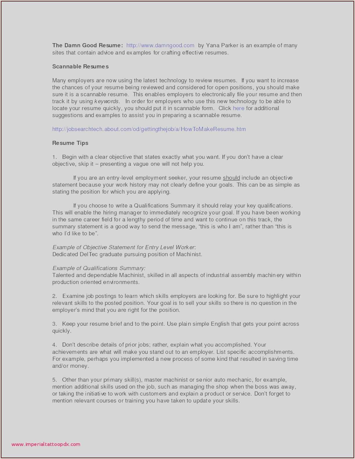 75 Beautiful graphy Resume Summary Examples for