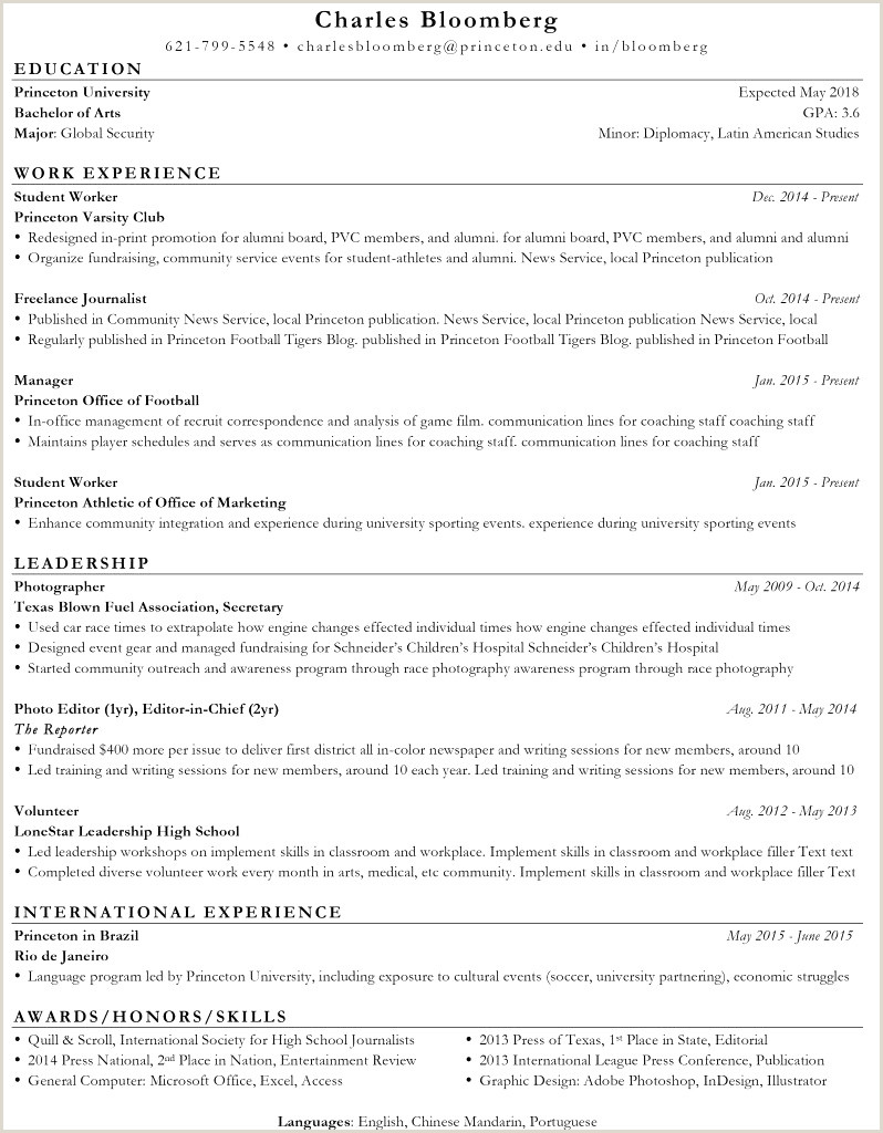 Professional Cv format for Photographer International Cv format Exemple Pin by 1024 Pillow Ekla