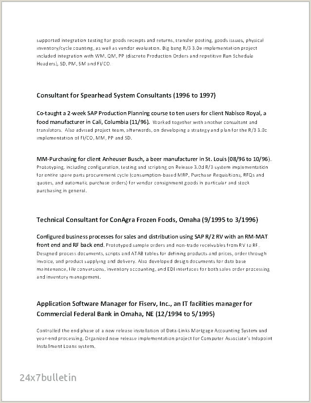 Professional Cv format for Retail Retail Cv Template