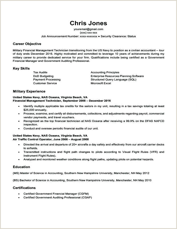 Professional Cv format for Safety Officer Military Cv Template