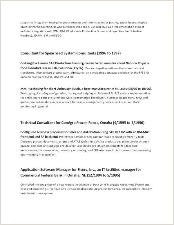 Ideal Supply Chain Resume Resume Design