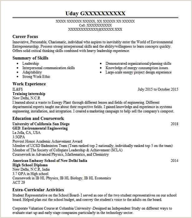 Training Internship Objectives Resume Objective