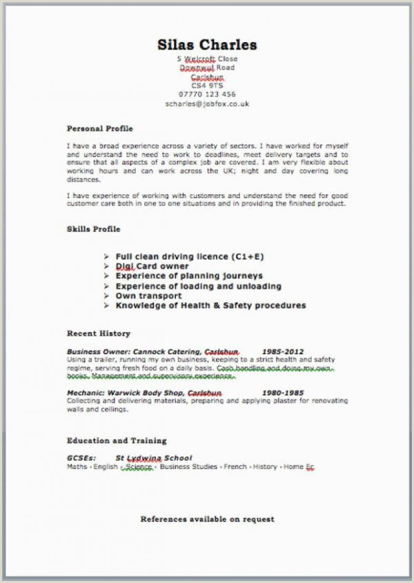 Professional Cv format for Uae Cv Examples for Retail Jobs Uk Beautiful Collection