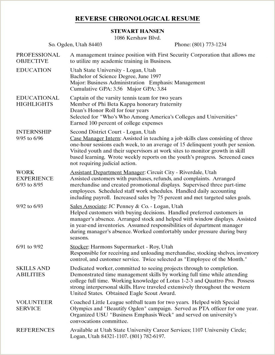 Professional Cv format In Doc Ceo Resume Template Examples 23 Simple Free Sample Yahoo