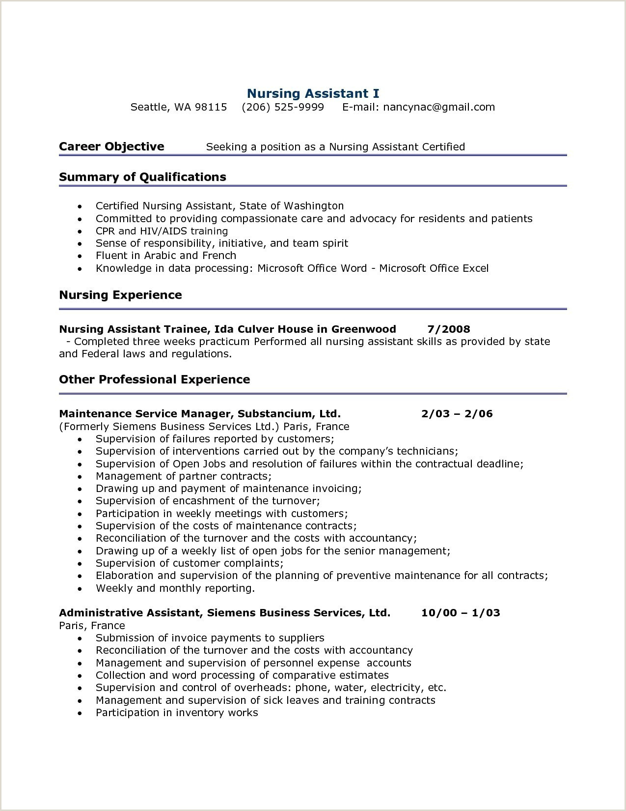 Professional Cv format In Excel Free Resume Sample for Teacher assistant New ¢‹†…¡ Free