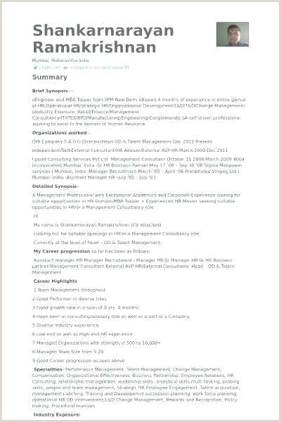 Professional Cv format In India social Media Resume Templates Best Media Resume Template