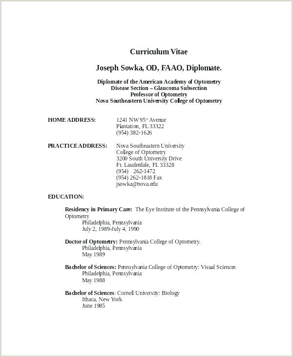 Professional Cv format In Ms Word Free Download Resume Templates Free Download for Microsoft Word – Resume