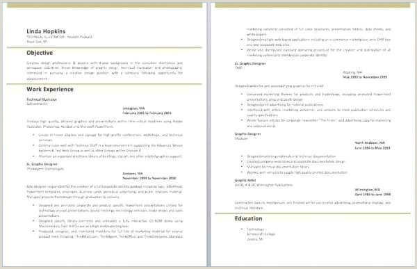 Free Word Document Resume Template New Free Cv Free Cv