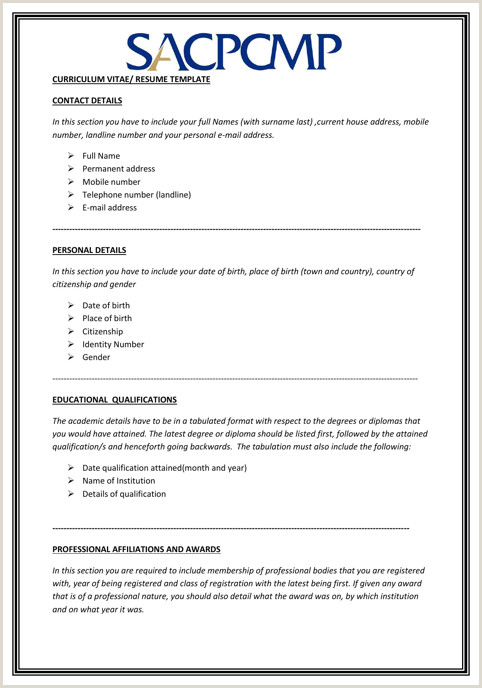 Professional Cv format In Nigeria Up to Date Cv Template sofasdocsurvey