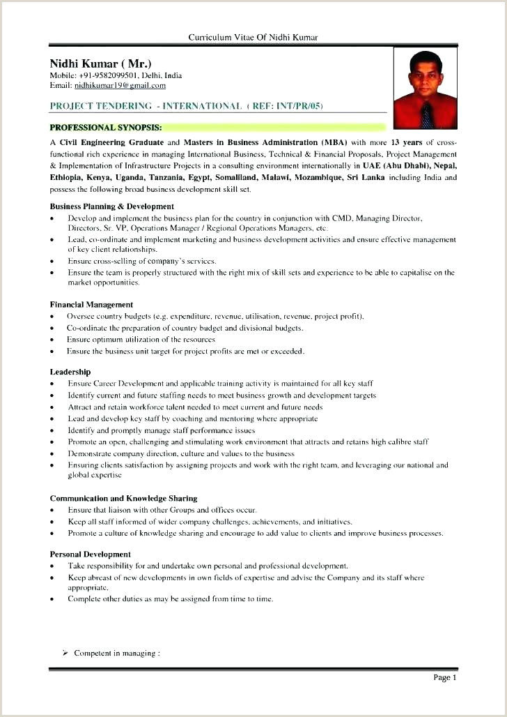 Professional Cv format Kenya Resume Sample Harvard Business School Template Doc
