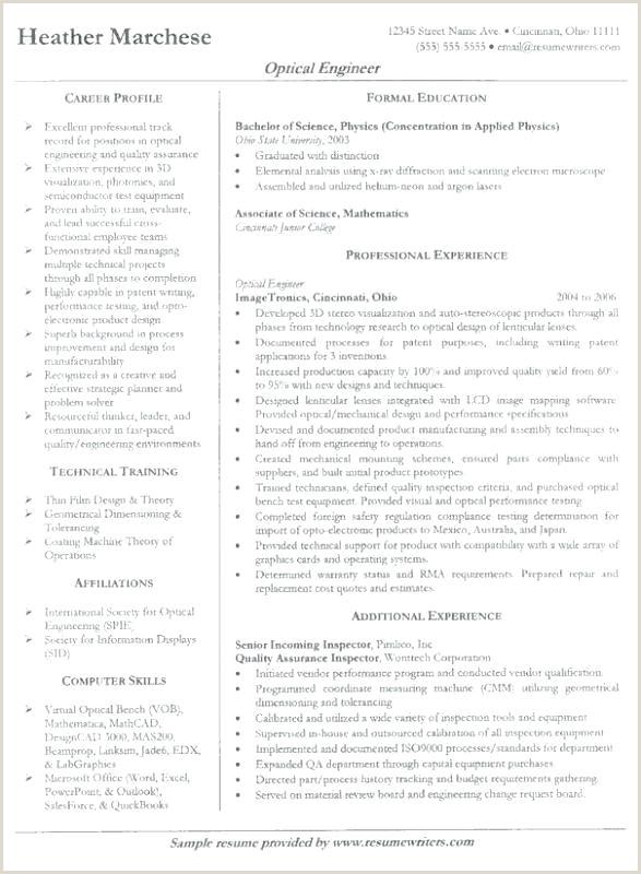 Professional Cv format Mechanical Engineer top Engineer Resume Templates Samples Professional