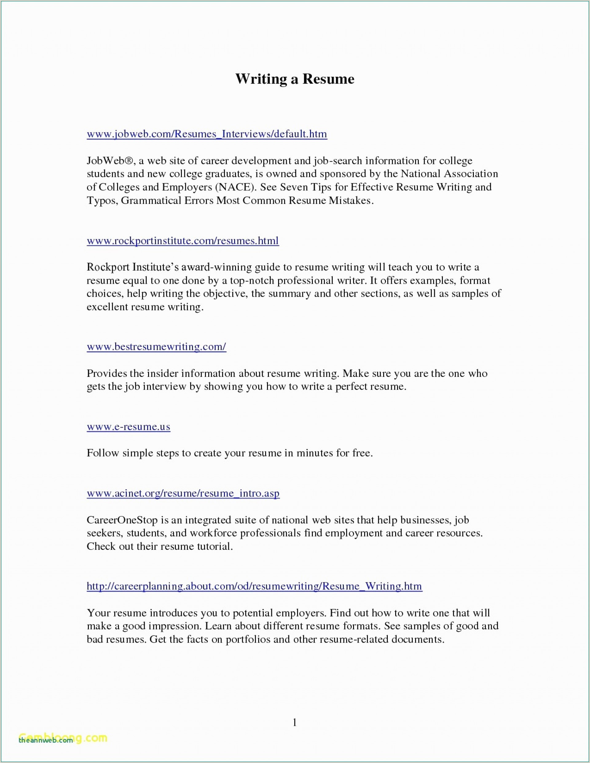 Latest Cv format In Pakistan Cool 014 English Cv Templatead